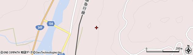 福島県伊達市梁川町舟生(山田山)周辺の地図