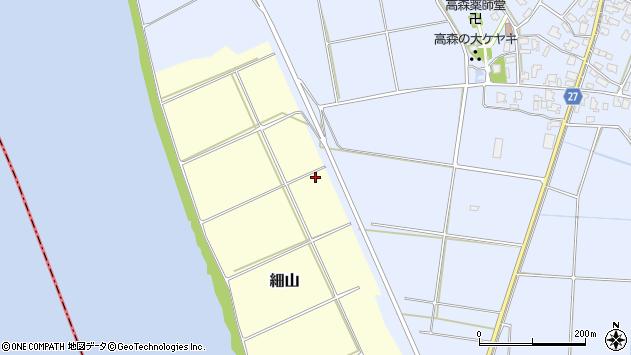 〒950-0102 新潟県新潟市北区細山の地図