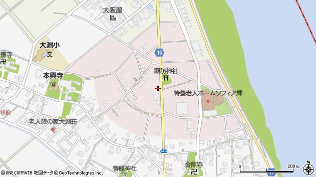 〒950-0107 新潟県新潟市江南区三百地の地図