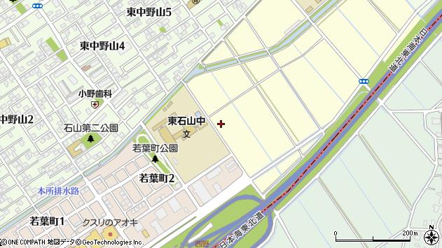 〒950-0106 新潟県新潟市江南区西野の地図