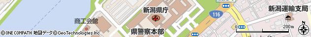 新潟県周辺の地図