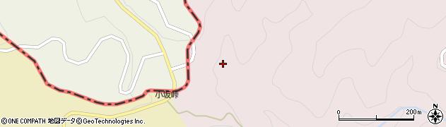 福島県伊達郡国見町鳥取二ノ沢周辺の地図