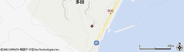 弥勒院周辺の地図