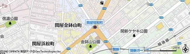 昭和町周辺の地図