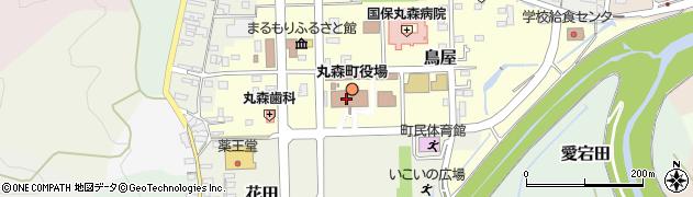宮城県伊具郡丸森町周辺の地図
