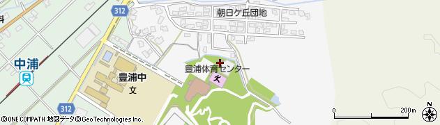 新発田市 高齢者生きがいセンター周辺の地図