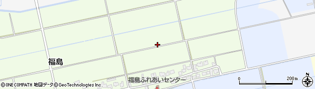 新潟県新発田市福島周辺の地図