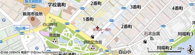 船江大神宮周辺の地図