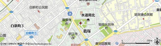 福明寺周辺の地図