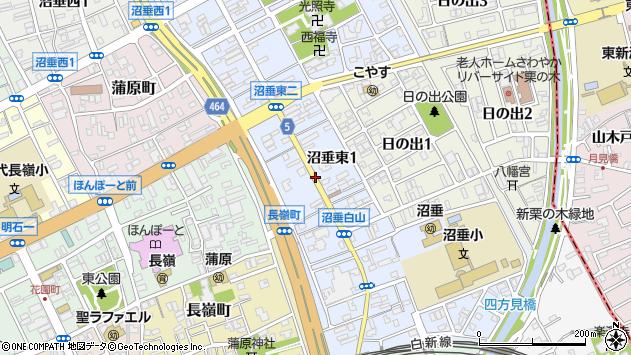 〒950-0075 新潟県新潟市中央区沼垂東の地図