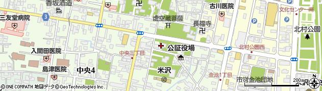 透林寺周辺の地図