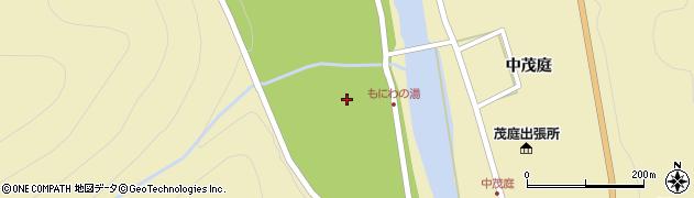 福島県福島市飯坂町茂庭(清水川原)周辺の地図