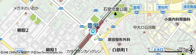 新潟県新潟市北区周辺の地図