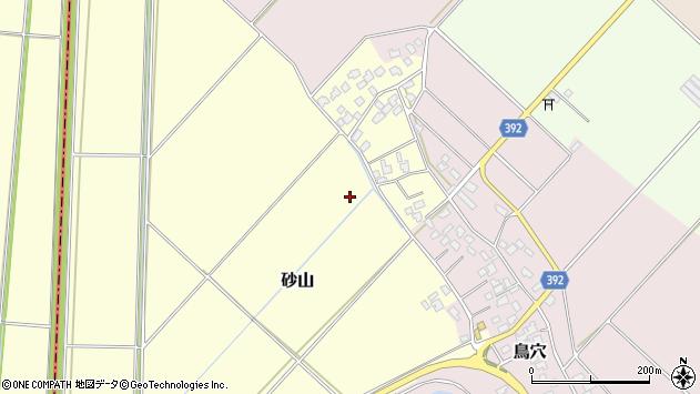 〒957-0087 新潟県新発田市砂山の地図