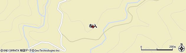 福島県福島市飯坂町茂庭(布入)周辺の地図