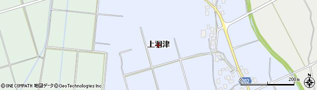 新潟県新発田市上羽津周辺の地図