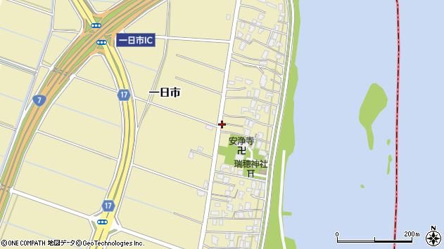 〒950-0802 新潟県新潟市東区一日市の地図