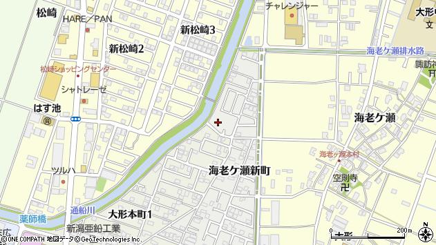 〒950-0808 新潟県新潟市東区海老ケ瀬新町の地図