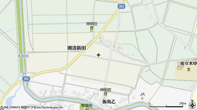 〒957-0078 新潟県新発田市則清新田の地図