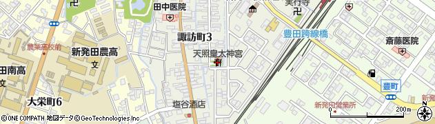 天照皇太神宮周辺の地図