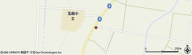 山形県東置賜郡川西町玉庭5249-8周辺の地図