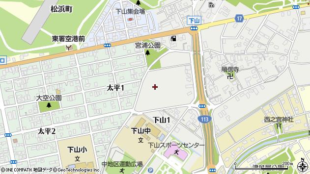 〒950-0003 新潟県新潟市東区下山の地図