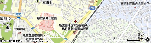 天照皇大神周辺の地図