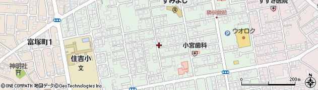 新潟県新発田市住吉町周辺の地図