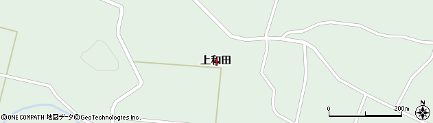 山形県東置賜郡高畠町上和田周辺の地図