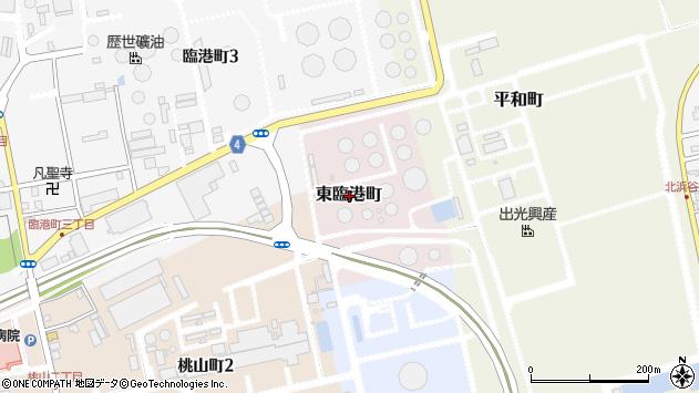 〒950-0042 新潟県新潟市東区東臨港町の地図