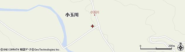 山形県西置賜郡小国町小玉川87周辺の地図