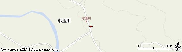 山形県西置賜郡小国町小玉川121周辺の地図