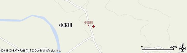 山形県西置賜郡小国町小玉川122周辺の地図