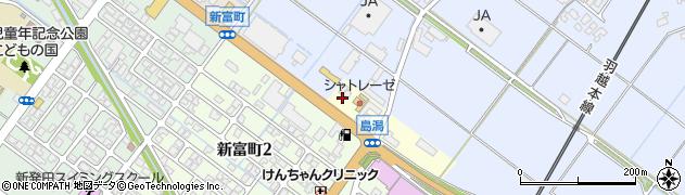 新潟県新発田市東塚ノ目周辺の地図