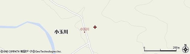 山形県西置賜郡小国町小玉川124周辺の地図