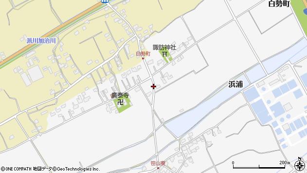 〒950-3103 新潟県新潟市北区白勢町の地図