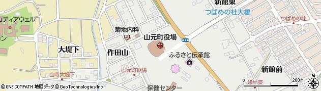 宮城県亘理郡山元町周辺の地図