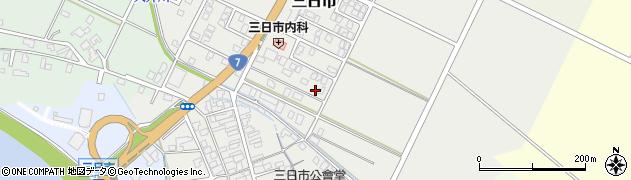 新潟県新発田市三日市周辺の地図