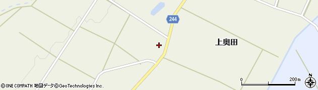 山形県東置賜郡川西町上奥田2327周辺の地図