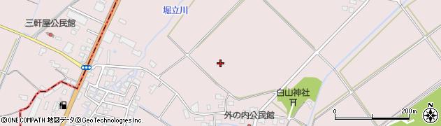 山形県米沢市窪田町(窪田)周辺の地図
