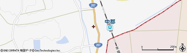 山形県東置賜郡川西町時田86周辺の地図