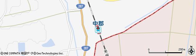 山形県東置賜郡川西町周辺の地図