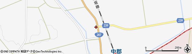 山形県東置賜郡川西町時田225周辺の地図