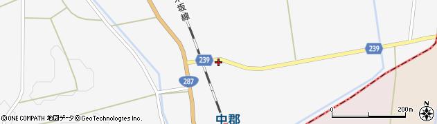 山形県東置賜郡川西町時田767周辺の地図