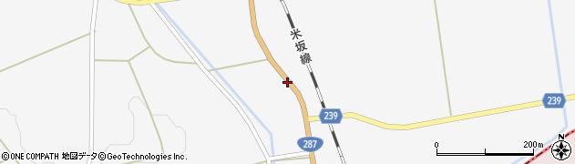 山形県東置賜郡川西町時田112周辺の地図