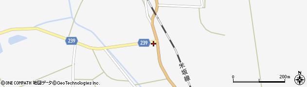 山形県東置賜郡川西町時田146周辺の地図