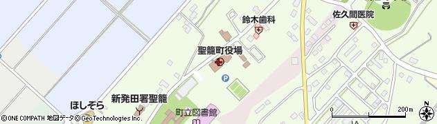 新潟県北蒲原郡聖籠町周辺の地図