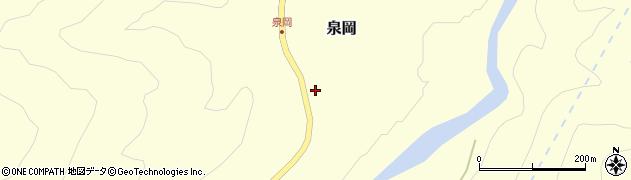 山形県西置賜郡小国町泉岡19周辺の地図