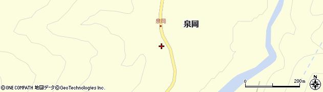 山形県西置賜郡小国町泉岡123周辺の地図