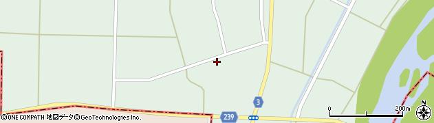 山形県東置賜郡川西町尾長島523周辺の地図